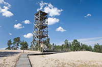 Rannametsa Tornimäe Tower,..Pärnu-Ikla Recreation Area,  Pärnu County, Estonia, Europe