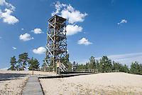 Rannametsa Tornimäe Tower,..Pärnu-Ikla Recreation Area,  Pärnu County, Estonia, Europe