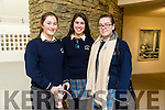 At the ICARUS Theatre and Kings Theatre Presents Hamlet  by William Shakespeare at Siamsa Tire on Tuesday. Pictured Colaiste na Sceilge Grace O'Connor, Eimear O'Sullivan and Collette O'Shea
