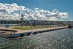 Gdynia, (woj. pomorskie) 19.07.2016. Port w Gdyni.