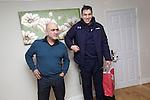 SWALEC-Ryan Jones visit to competition winner Paz Balzano house in Swansea...10.12.12..©Steve Pope