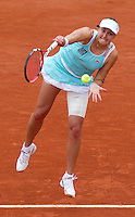 Nadia Petrova (RUS) (19) against Elena Dementieva (RUS) (5) in the quarterfinals of the women's singles. Elena Dementieva beat Nadia Petrova 2-6 6-2 6-0..Tennis - French Open - Day 10 - Tue 1 June 2010 - Roland Garros - Paris - France..© CameraSport-MIKE FREY - 43 Linden Ave. Countesthorpe. Leicester. England. LE8 5PG - Tel: +44 (0) 116 277 4147 - admin@camerasport.com - www.camerasport.com