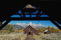 Chapel of Transfiguration, Grand Teton NP,Wyoming, September 2005