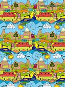 Daniela, GIFT WRAPS, paintings(BRDBKWD08007,#GP#) everyday