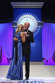 United States Vice President Joe Biden and Dr. Jill Biden dance during the Inaugural Ball at the Walter Washington Convention Center January 21, 2013 in Washington, DC. Biden and President Barack Obama started their second term by taking the Oath of Office earlier in the day during a ceremony on the West Front of the U.S. Capitol.  .Credit: Chip Somodevilla / Pool via CNP
