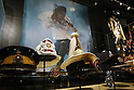 May 12, 2010 - Tokyo, Japan - King of Pop's hats and badges are on display at the 'Michael Jackson - The official Lifetime Collection' exhibition, in a hall at the foot of Tokyo Tower, Tokyo, Japan, on May 12, 2010. More than 280 items of Michael Jackson memorabilia including crystal-studded gloves and favorite 1967 Rolls Royce are on display until July 4. (c) MICHAEL JACKSON ESTATE.