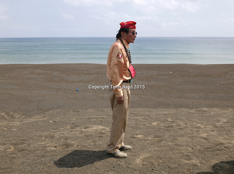 Battle or Iwo Jima 70th anniversary ceremony, Mar. 21, 2015
