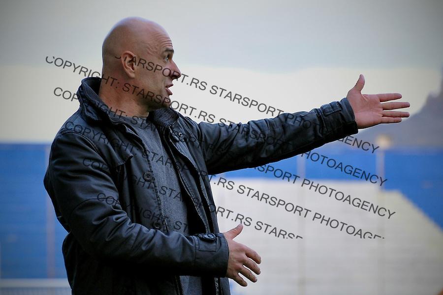 Fudbal Jelen Super League season 2016-2017<br /> Novi Pazar v Napredak (Krusevac)<br /> Sef strucnog staba Dejan Govedarica<br /> Novi Pazar, 22. 10. 2016<br /> foto: Emir Sadovic/Starsportphoto &copy;