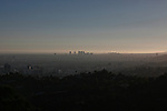 Wilshire and Santa Monica from the Observatory