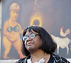 Diane Abbott at the Greece Solidarity Campaign Rally in Trafalgar Square London, Great Britain 29th June 2015 <br /> <br /> Greece Solidarity Campaign Rally<br /> <br /> <br /> Photograph by Elliott Franks <br /> Image licensed to Elliott Franks Photography Services