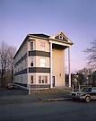 Triple Decker.Worcester, Massachusetts