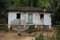 The home of  D. Maninha, aged 94, one of the oldest inhapitants of Pylons, Cubatão