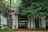 Looking across and into the Sandela Pavilion.<br />