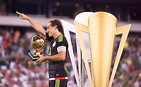 Philadelphia, PA - July 26, 2015:  Mexico defeated Jamaica 3-1 during the CONCACAF Gold Cup Final at Lincoln Financial Field.
