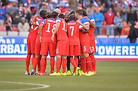 San Francisco, CA., - Tuesday, May 27, 2014: USA vs Azerbaijan as the game begins at Candlestick Park.