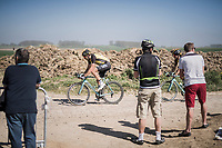 Maarten Wynants (BEL/LottoNL-Jumbo)<br /> <br /> 115th Paris-Roubaix 2017 (1.UWT)<br /> One Day Race: Compi&egrave;gne &rsaquo; Roubaix (257km)