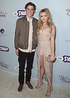 "HOLLYWOOD - OCTOBER 5:  Spencer List and Peyton List at the Los Angeles premiere of ""The Swap"" at ArcLight Hollywood on October 5, 2016 in Hollywood, California. Credit: mpi991/MediaPunch"