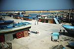 ZANZUR, Libya Sunday 4th September 2011:..The makeshift refugee camp of Zanzur. ..Ayman Oghanna