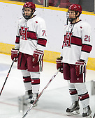 Phil Zielonka (Harvard - 72), Jacob Olson (Harvard - 26) - The Harvard University Crimson defeated the Air Force Academy Falcons 3-2 in the NCAA East Regional final on Saturday, March 25, 2017, at the Dunkin' Donuts Center in Providence, Rhode Island.
