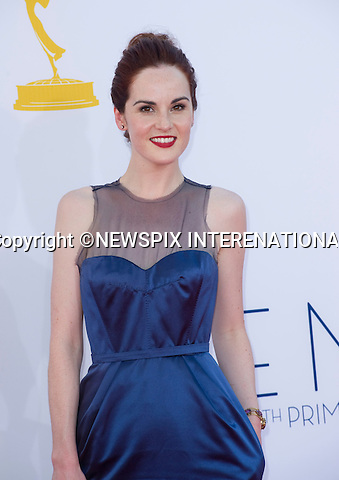 """MICHELLE DOCKERY - 64TH PRIME TIME EMMY AWARDS.Nokia Theatre Live, Los Angelees_23/09/2012.Mandatory Credit Photo: ©Dias/NEWSPIX INTERNATIONAL..**ALL FEES PAYABLE TO: """"NEWSPIX INTERNATIONAL""""**..IMMEDIATE CONFIRMATION OF USAGE REQUIRED:.Newspix International, 31 Chinnery Hill, Bishop's Stortford, ENGLAND CM23 3PS.Tel:+441279 324672  ; Fax: +441279656877.Mobile:  07775681153.e-mail: info@newspixinternational.co.uk"""