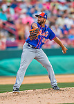 3 March 2016: New York Mets pitcher Dario Alvarez on the mound during a Spring Training pre-season game against the Washington Nationals at Space Coast Stadium in Viera, Florida. The Mets fell to the Nationals 9-4 in Grapefruit League play. Mandatory Credit: Ed Wolfstein Photo *** RAW (NEF) Image File Available ***