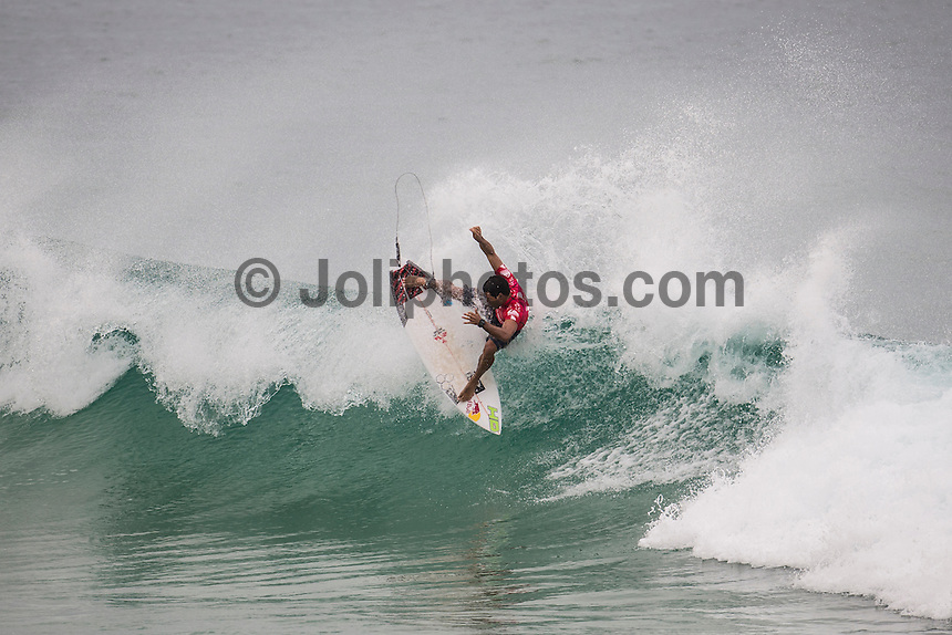 Snapper Rocks, COOLANGATTA, Queensland/Australia (Thursday, March 12, 2015) Adriano de Souza (BRA) . - Competition at the Quiksilver Pro and Roxy Pro Gold Coast continued today at Snapper Rocks with the finals being decided in both events.. Brazilian Filipe Toledo (BRA) defeated Julian Wilson (AUS) in the final of the men's contest and Carisa Moore (HAW) defeated local and defending champion Stephanie Gilmore (AUS) in the women's event.-  Photo: joliphotos.com