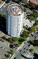 aerial photograph residential high rise Gough and Ellis Western Addition San Francisco