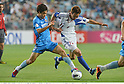 Ko Seul-Ki (Ulsan), Kazuma Watanabe (FC Tokyo),.MAY 16, 2012 - Football / Soccer :.AFC Champions League Group F match between Ulsan Hyundai FC 1-0 F.C.Tokyo at Ulsan Munsu Football Stadium in Ulsan, South Korea. (Photo by Takamoto Tokuhara/AFLO)