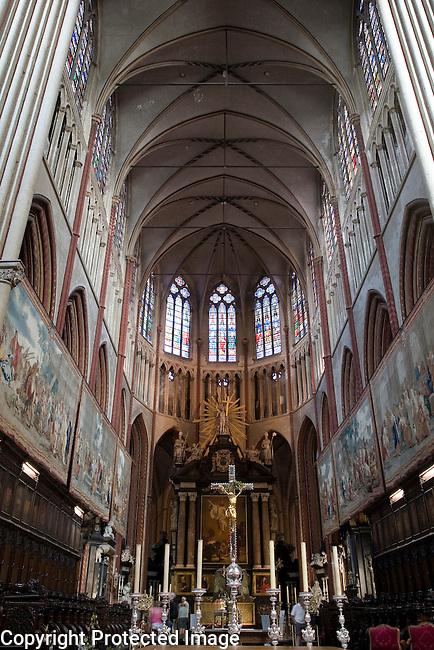 St Salvatorskathedraal - Saviour's Cathedral; Bruges; Belgium; Europe