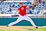 2 March 2011: Washington Nationals pitcher J.D. Martin on the mound during a Spring Training game against the Florida Marlins at Space Coast Stadium in Viera, Florida. The Nationals defeated the Marlins 8-4 in Grapefruit League action. Mandatory Credit: Ed Wolfstein Photo
