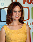 Emily Deschanel at the Fox Fall Eco-Casino Party at AREA in Hollywood, September 24th 2007.