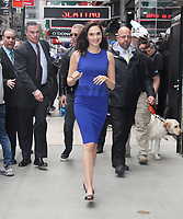 NEW YORK, NY May 23, 2017 Gal Gadot at Good Morning America to talk about Warner Bros. Pictures Wonder Woman  in New York May 23, 2017. Credit:RW/MediaPunch