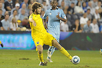 Tommy Heinemann Columbus Crew forward in action... Sporting Kansas City defeated Columbus Crew 2-1 at LIVESTRONG Sporting Park, Kansas City, Kansas.