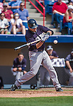 11 March 2014: New York Yankees catcher Austin Romine in action during a Spring Training game against the Washington Nationals at Space Coast Stadium in Viera, Florida. The Nationals defeated the Yankees 3-2 in Grapefruit League play. Mandatory Credit: Ed Wolfstein Photo *** RAW (NEF) Image File Available ***