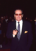 Jack Nicholson 1992 Movie Premiere NYC<br />