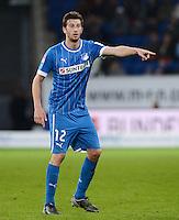 FUSSBALL   1. BUNDESLIGA   SAISON 2012/2013   20. SPIELTAG    TSG 1899 Hoffenheim - SC Freiburg      02.02.2013 David Abraham (TSG 1899 Hoffenheim)