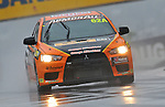 Car #62a GLOBE / Westrac.Peter Hill,.Eric Bana,.Tim Leahey,.Mitsubishi.Evo X RS.Armor All Bathurst 12hr Race.February 13th &amp; 14th 2010.Mt Panorama Circuit, Bathurst, NSW, Australia.(C) Joel Strickland Photographics.Use information: This image is intended for Editorial use only (e.g. news or commentary, print or electronic). Any commercial or promotional use requires additional clearance.