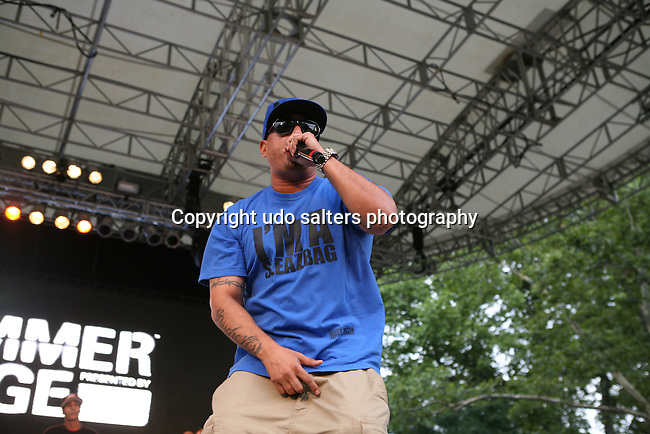 PSYCHO Les of the BEATNUTS Performs at Rock Steady Crew 36th Year Anniversary Celebration at Central Park's SummerStage, NY
