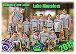 2015 Burlington North End Gray Lake Monsters