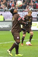 Football: Germany, 2. Bundesliga<br /> FC St. Pauli - Joseph Claude Gyau
