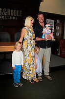 "LOS ANGELES - APR 17:  Tori Spelling, daughter Stella, son Liam, daughter Hattie, husband Dean McDermott at a signing for her book ""celebraTORI"" at Barnes & Noble at The Grove on April 17, 2012 in Los Angeles, CA"