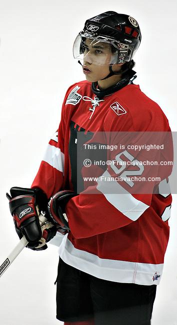 QMJHL (LHJMQ) Quebec Remparts  #52 Mikael Tan
