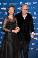 Princesse Claire de Belgique &amp; le prince Laurent de Belgique :  7&egrave;me C&eacute;r&eacute;monie des Magritte du Cin&eacute;ma, qui r&eacute;compense le septi&egrave;me art belge, au Square, &agrave; Bruxelles.<br /> 7th edition of the Magritte du Cinema awards ceremony.<br /> Belgium, Brussels, 4 February 2017