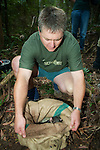 Kevin Schroder Releasing Mountain Brushtail Possum