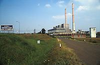 Piacenza, Centrale Enel la Casella.<br /> Piacenza, Enel power plant La Casella.