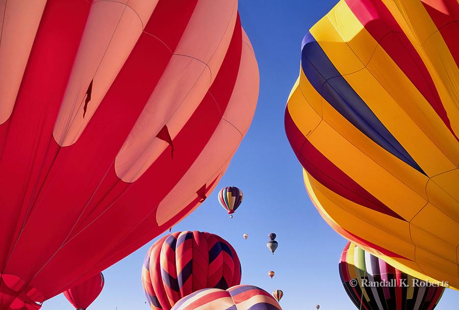 Kodak Albuquerque International Balloon Fiesta lift off.