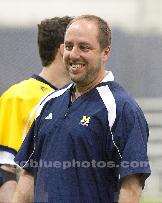 University of Michigan men's lacrosse 20-1 victory over Pittsburgh at Oosterbaan Fieldhouse in Ann Arbor, MI, on March 19, 2011.