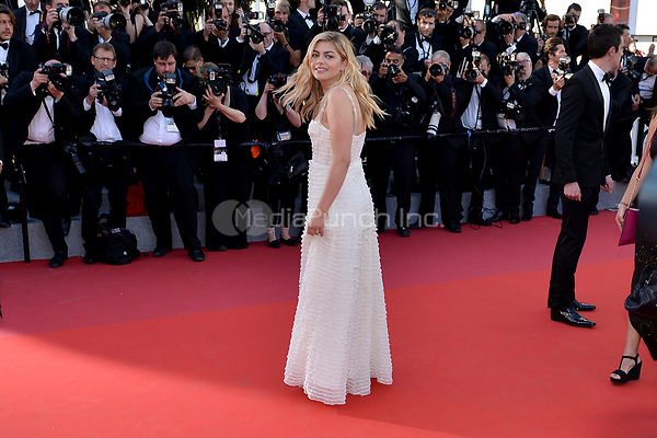 Louane Emera at the Opening Movie &acute;Les Fantomes d Ismael`  screening during The 70th Annual Cannes Film Festival on May 17, 2017 in Cannes, France.<br /> CAP/LAF<br /> &copy;Lafitte/Capital Pictures /MediaPunch ***NORTH AND SOUTH AMERICAS, CANADA and MEXICO ONLY***