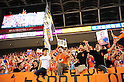 Albirex Niigata fans,..JULY 10, 2011 - Football :..Albirex Niigata fans celebrate after the 2011 J.League Division 1 match between Kashima Antlers 1-2 Albirex Niigata at Kashima Soccer Stadium in Ibaraki, Japan. (Photo by AFLO)
