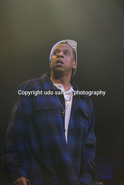 Jay-Z Joins Young Jeezy on State to Close The Show At Power 105.1's Powerhouse 2014 at Barclays Center, Brooklyn, NY